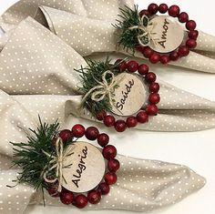 Blue Christmas Decor, Indoor Christmas Decorations, Christmas Ornament Crafts, Farmhouse Christmas Decor, Noel Christmas, Rustic Christmas, Holiday Crafts, Christmas Wreaths, Holiday Decor