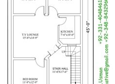 House Lahore House Plan, Architectural drawings map naksha design Drawings design plan your house and building modern style and design your house and buildin… Town House Plans, Small House Floor Plans, 5 Marla House Plan, Tv In Kitchen, Der Plan, House Map, House Elevation, Design Your Home, Modern Buildings