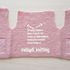 Very Easy and Very Stylish Illustrated Expression Knitted Baby Vest - benim takimlarım Baby Scarf, Baby Cardigan, Knit Cardigan, Crochet For Kids, Crochet Baby, Knit Crochet, Knitting Videos, Knitting Projects, Baby Knitting Patterns