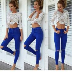 Cordella crop top
