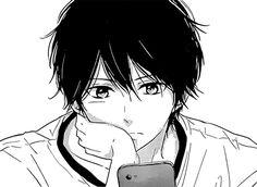 Immagine di manga, shoujo, and anime Manga Anime, Manga Boy, Manga Cute, Cute Anime Guys, Anime Boys, Wie Zeichnet Man Manga, Hirunaka No Ryuusei, Image Manga, Estilo Anime