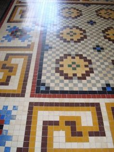 suelo mosaico | Decorar tu casa es facilisimo.com