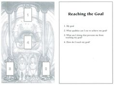 Reaching the Goal Tarot Card Spread | Oracle Cards | Divination Layout