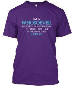 John 3:16 Shirts and Hoodies! Powerful