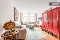 Spacious apartment in center +bikes in Amsterdam Our Kiboots apartment is now also for rent!
