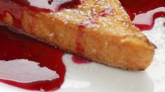 "Today, we're featuring a delicious classic French dessert or snack — pain perdu (French toast).   Pain perdu literally means ""ruined bread"".  In the old days, pain perdu was made to save old bread and crusts.  Traditionally, it was also..."
