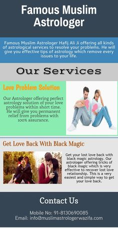 Love Problem Solution by best astrologer Hafij Ali.