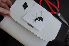 "Мастер-класс: сумка с дерева да кожи ""Белый шоколад"" - Ярмарка Мастеров - ручная работа, handmade"