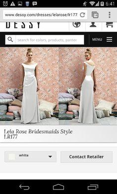Lela rose bridesmaid style LR177