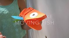 How to make a moving fish. This is cool and I think simpler than it looks.