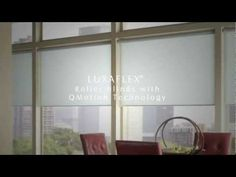 LUXAFLEX® Qmotion Technology: Motorisation for Roller Blinds - Alison I have Qmotion blinds in my attic - they are wonderful!
