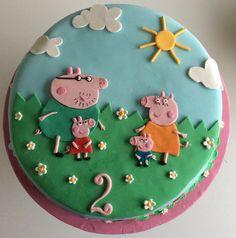 Peppa Pig 2D cake