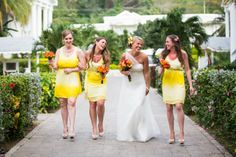 Shop the best bridesmaid dresses by Jenny Yoo, Watters, Sorella Vita and many more. Meet your free style consultant and try on bridesmaid dresses at home. Yellow Bridesmaid Dresses, Wedding Dresses, Real Weddings, Yellow Wedding, Inspiration, Style, Fashion, Bride Dresses, Biblical Inspiration