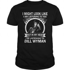 Cool and Awesome Bill Wyman Shirt Hoodie