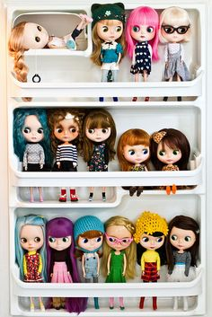 Blythe collection