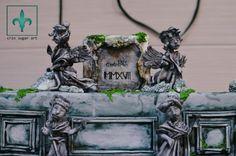 fragment Fontana di Trevi - Saracino  - Cake by Crin sugarart