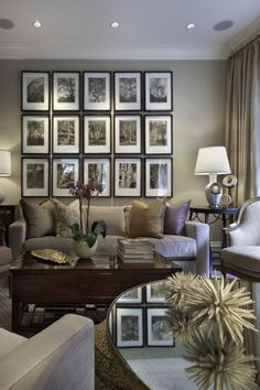 Love a wall of frames!