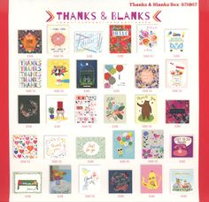 Thanks & Blanks - Read It & Reap with Me