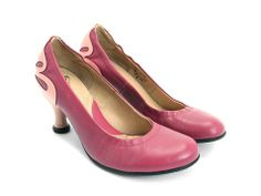 One of my all-time favorite shoe designers, John Fluevog. These are the Eleanor in pink from the Bellevue family. I ordered the very last pair company wide. If they fit me, I will have nailed down at least 1 pair of my wedding shoes. Woo-hoo!!