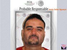 Comisión Nacional de Seguridad (CNS) confirma detención de Jesús Salas Aguayo, operaba grupo criminal en Chihuahua.