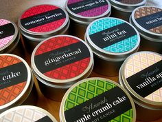 Candle packaging by BrookeMarton, via Flickr