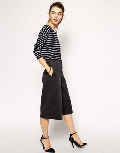 ASOS Casual Culotte Trousers