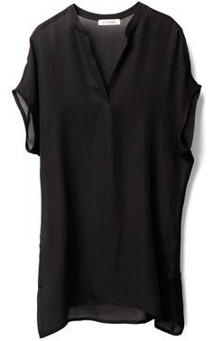 Cuyana Apres Swim Coverup Black