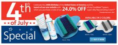 Fourth of July and Launch of New FootMate®  System Website Sales Promotion  CITY OF INDUSTRY, CA—June 29, 2016. To celebrate the 240th Birthday of the United States of America and the launch of our new website, take 24.0% off any FootMate® System when you purchase a tube of our super silky Rejuvenating Cream™.  Sale valid for the month of July.  All purchases must be made through the FootMate® website.  Promotion Expires July 31, 2016