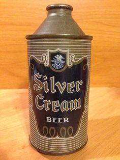 Silver Cream  Beer  Menominee-Marinette Brewing Co.   Menominee, MI 185-18
