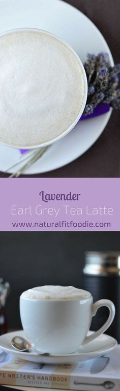 This Lavender Earl Grey Tea Latte is fragrant and bursting with flavour. It's pure indulgence in a cup!
