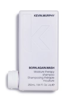 BORN.AGAIN.WASH - Kevin.Murphy An ultra rich moisturising shampoo for extremely tortured and chemically dehydrated hair. Includes a fusion of technology and aromatherapy, a blend of micro particles, which are a complex of tiny amino acids, proteins and lipids, in combination with natural essential oils.
