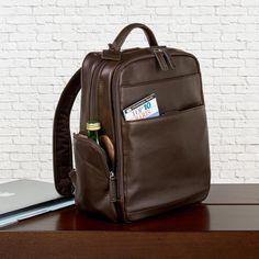 f4e43100c130 The Navigator Backpack - Espresso Backpack Straps