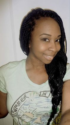 I LOVE Box Braids !-- I'm seriously thinking about getting some...