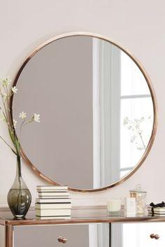 Buy Copper Metal Mirror from the Next UK online shop