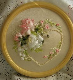 Gallery.ru / Фото #103 - Моя вышивка лентами 2 - Valehcia