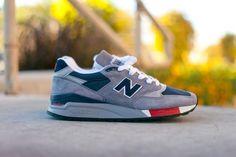 New Balance 998 'Grey/Navy/Red' Holiday 2012 • Highsnobiety
