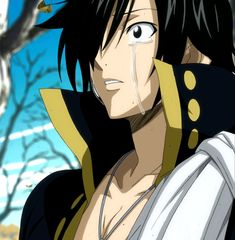 Fairy Tail.  Zeref's tormented heart.