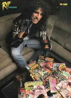 Image scans from hundreds of issues of Hit Parader, Circus, and more! (All credit for these images goes to the respective magazine owners, photographers,etc. Music Jam, Good Music, Pop Punk, Alice Copper, Detroit, Rock Hall Of Fame, Joe Perry, Heavy Metal Music, Gothic Rock