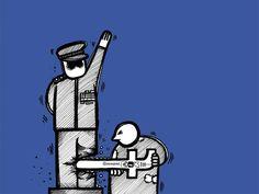 كاريكاتير - سارة قائد (البحرين)  يوم الجمعة 20 مارس 2015  ComicArabia.com  #كاريكاتير