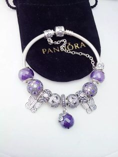 50% OFF!!! $279 Pandora Charm Bracelet. Hot Sale!!! SKU: CB01172 - PANDORA Bracelet Ideas