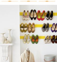 shoe hanging systems