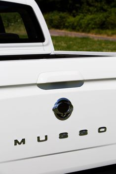 """Practical pick-up truck looks good inside and out and has a refined engine and pleasingly direct steering"" reveals their thoughts on the Musso Engineering, Truck, Thoughts, Reading, Electrical Engineering, Trucks, Word Reading, Track, The Reader"