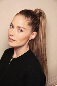 Cool new spring hairstyles you'll want to try (like this slick high ponytail). Click to see them all!