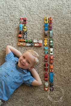 4 Year Old Boy Session with Hotwheels! Cars are the way to a boy's heart! Hotwheels Photo Ideas, boys photo session ideas. Julie O'Neill Photography www.julieoneillphotography.com