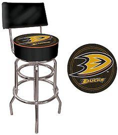 Trademark Anaheim Ducks Bar Stool with Back - Shop.NHL.com