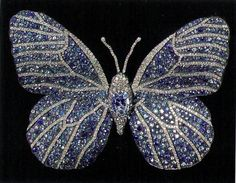 JAR, beautiful butterfly pin? Love the bugs in jewels, unexpected and stunning!