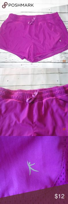 fb54eb0faa3af7 NWOT Danskin Now Workout Shorts New w o Tags! Danskin Now (semi- · Purple  FabricWorkout ShortsSpandex