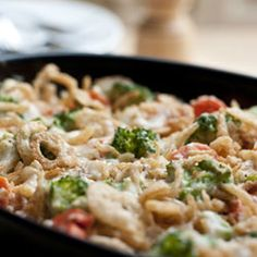 Crowd Pleasing Vegetable Casserole yum this is a great dish for veggie lovers and also a great thanksgiving dinner