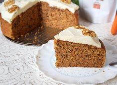 Ciasto marchewkowe z kremem, orzechami Vanilla Cake, Banana Bread, Food, Essen, Meals, Yemek, Eten