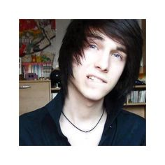 Cute Emo Guys — Want to see more adorable guys like this on your... via Polyvore